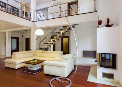 Designer's living room